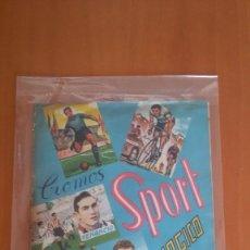 Álbum de fútbol completo: SPORT MAGICO ALBUM COMPLETO FHER DISGRA 1953 CON LAS GAFAS . Lote 153636606
