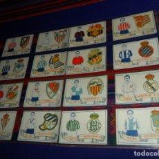 Album de football complet: ESCUDOS Y EQUIPOS DE FOOT BALL COMPLETO 50 CROMOS. CHOCOLATES AMATLLER 1929. MUY BUEN ESTADO. RARO.. Lote 153658534