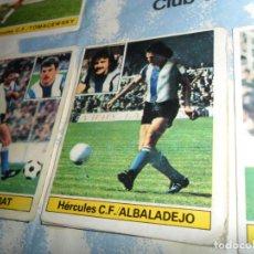 Álbum de fútbol completo: LIGA ESTE 81 82 ALBADALEJO Y EL MUNDIAL DE ESPAÑA ARTUA COMPLETO. REGALO BARÇA CAMPEÓN LIGA 84 85.. Lote 153663854