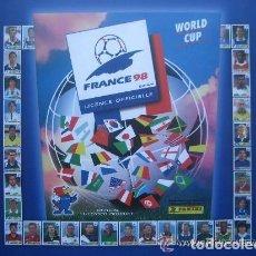 Álbum de fútbol completo: 1998 ALBUM-LIBRO PANINI DEL MUNDIAL FRANCIA 98. MUCHAS FOTOS A COLOR. NUEVO.. Lote 153797946