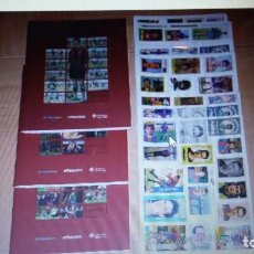 Álbum de fútbol completo: 3 ALBUMES FUTBOL COMPLETOS. HISTORIA BLAUGRANA . HISTORIA EN CROMOS. Lote 154050694