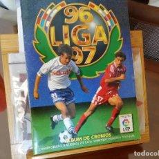 Álbum de fútbol completo: CAMPEONATO LIGA 1996- 97. CROMOS DOBLES, TRIPLES COLOCAS Y FICHAJES. MUY COMPLETO. Lote 154115754