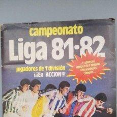 Álbum de fútbol completo: ALBUM ESTE 81 1981 82 COMPLETO MUCHOS COLOCAS MONCALEAN MORGADO AMARILLA ALBADALEJO ...PERFECTA CONS. Lote 154125710