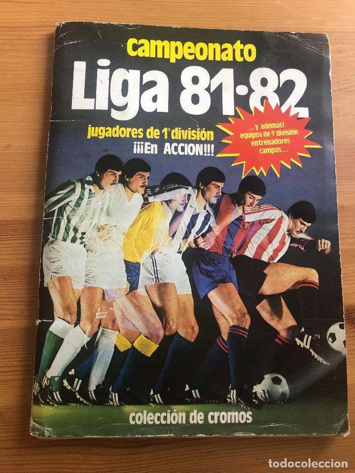 ALBUM ESTE 81 82 (TODO LO EDITADO MENOS KUSTUDIC) (Coleccionismo Deportivo - Álbumes y Cromos de Deportes - Álbumes de Fútbol Completos)