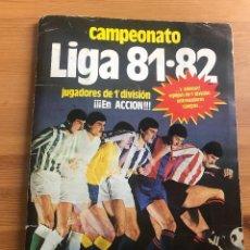 Álbum de fútbol completo: ALBUM ESTE 81 82 (TODO LO EDITADO MENOS KUSTUDIC). Lote 154305126