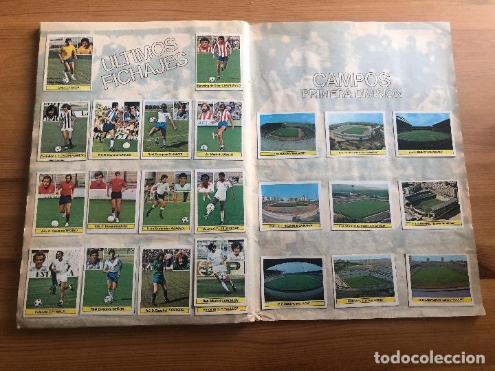 Álbum de fútbol completo: ALBUM ESTE 81 82 (Todo lo editado menos Kustudic) - Foto 12 - 154305126