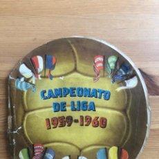 Álbum de fútbol completo: ALBUM FHER 59-60 (COMPLETO). Lote 154305758
