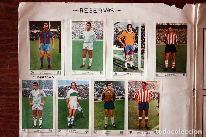 Álbum de fútbol completo: ALBUM DE CROMOS FERCA - FUTBOL CAMPEONATO 1959 - 1960 - COMPLETO + 14 COLOCAS - Foto 3 - 154401658
