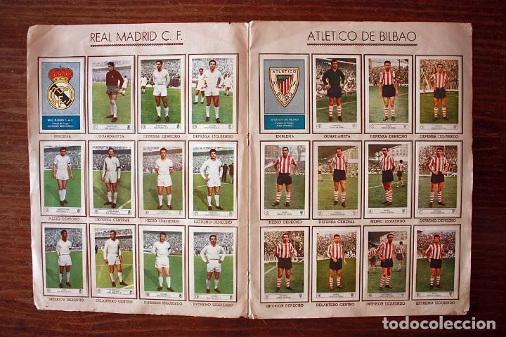 Álbum de fútbol completo: ALBUM DE CROMOS FERCA - FUTBOL CAMPEONATO 1959 - 1960 - COMPLETO + 14 COLOCAS - Foto 5 - 154401658