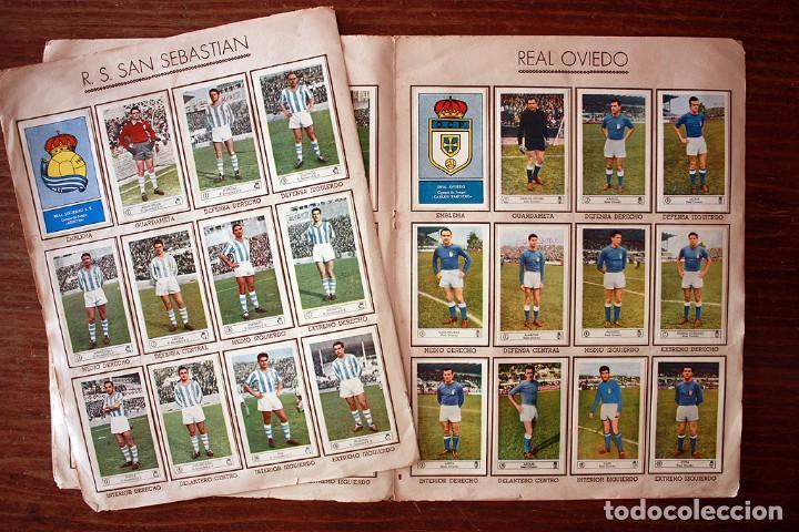 Álbum de fútbol completo: ALBUM DE CROMOS FERCA - FUTBOL CAMPEONATO 1959 - 1960 - COMPLETO + 14 COLOCAS - Foto 10 - 154401658