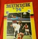Álbum de fútbol completo: MUNICH 74 ALBUM CROMOS DE FUTBOL (1974) COMPLETO - ED. FHER - PROMOCION COCA-COLA - MUNDIAL FUTBOL. Lote 154425746