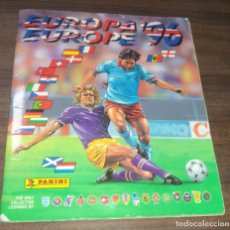 Álbum de fútbol completo: ALBUM COMPLETO. EUROPA´96. PANINI. PERFECTO ESTADO. VER FOTOS ADICIONALES.. Lote 154599002