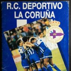 Álbum de fútbol completo: ALBUM CROMOS FUTBOL R.C. DEPORTIVO LA CORUÑA 1992/1993. Lote 154788982
