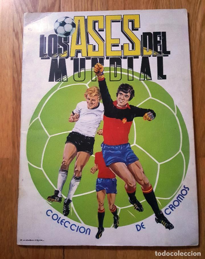 ALBUM LOS ASES DEL MUNDIAL ESPAÑA 82 - EDITORIAL VENLICO COMPLETO (Coleccionismo Deportivo - Álbumes y Cromos de Deportes - Álbumes de Fútbol Completos)