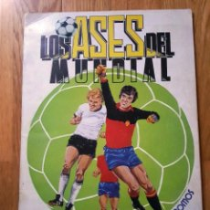 Álbum de fútbol completo: ALBUM LOS ASES DEL MUNDIAL ESPAÑA 82 - EDITORIAL VENLICO COMPLETO. Lote 154909166