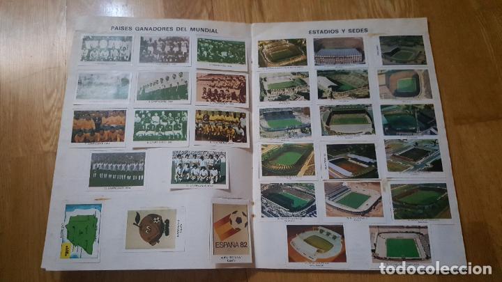 Álbum de fútbol completo: ALBUM LOS ASES DEL MUNDIAL ESPAÑA 82 - EDITORIAL VENLICO COMPLETO - Foto 2 - 154909166