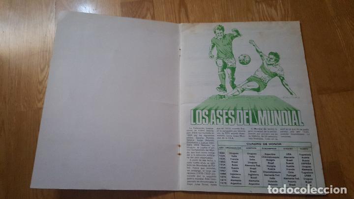 Álbum de fútbol completo: ALBUM LOS ASES DEL MUNDIAL ESPAÑA 82 - EDITORIAL VENLICO COMPLETO - Foto 3 - 154909166