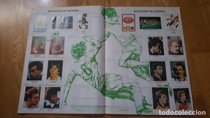 Álbum de fútbol completo: ALBUM LOS ASES DEL MUNDIAL ESPAÑA 82 - EDITORIAL VENLICO COMPLETO - Foto 9 - 154909166