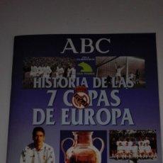 Álbum de fútbol completo: REAL MADRID. HISTORIA DE LAS 7 COPAS EUROPA. Lote 154984266