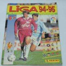 Álbum de fútbol completo: LIGA 94-95 DE FUTBOL, PANINI. COMPLETO, A FALTA DEL FICHAJE N.374, RESTO COMPLETO CON PEGATINAS DE E. Lote 155079606