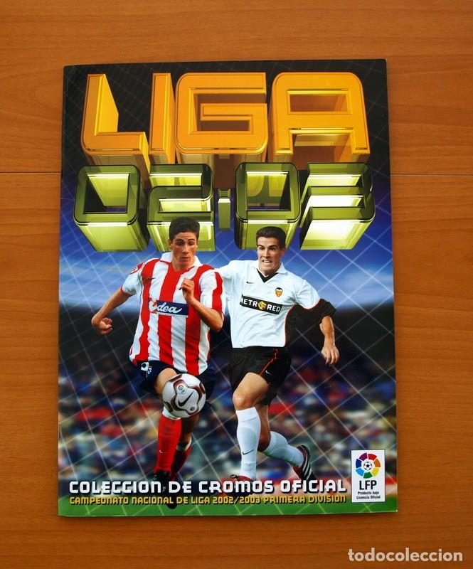 ÁLBUM COMPLETO - LIGA 2002-2003, 02-03 - EDICIONES ESTE - VER FOTOS Y EXPLICACIONES EN EL INTERIOR (Coleccionismo Deportivo - Álbumes y Cromos de Deportes - Álbumes de Fútbol Completos)