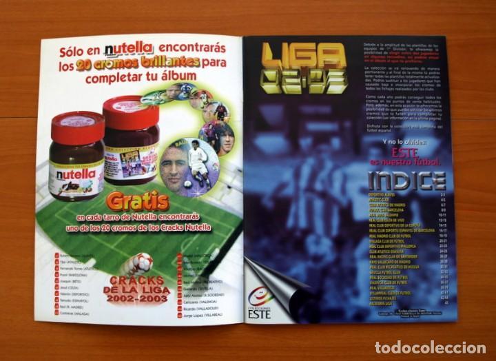 Álbum de fútbol completo: Álbum Completo - Liga 2002-2003, 02-03 - Ediciones Este - Ver fotos y explicaciones en el interior - Foto 2 - 155093778