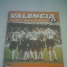 Álbum de fútbol completo: VALENCIA C.F. TEMPORADA 2000-2001 ,00-01 -PANINI-ALBUM COMPLETO HACIENDO HISTORIA POR EUROPA .. Lote 205536615
