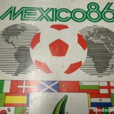Álbum de fútbol completo: ALBUM DE CROMOS COMPLETO - MEXICO 86 - PANINI - . Lote 155247162