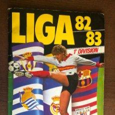 Álbum de fútbol completo: ALBUM LIGA ESTE FUTBOL 82-83 MUY COMPLETO 1982-1983 CON MUCHOS DOBLES,TRIPLES,CROMOS DIFICILES. Lote 155386222