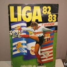 Álbum de fútbol completo: ALBUM FUTBOL ESTE LIGA 1982-83 NINGUNA CASILLA VACIA BUEN ESTADO,BARATO. Lote 155529002