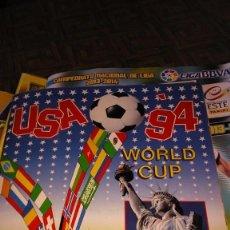 Álbum de fútbol completo: ÁLBUM DE CROMOS FÚTBOL WORLD CUP 94 COMPLETO. Lote 155638210