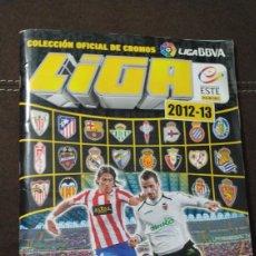 Álbum de fútbol completo: ALBUM LIGA ESTE 2012/2013 CON FIRMA DE JUGADORES DEL RAYO VALLECANO MERCADO INVIERNO. Lote 155703365