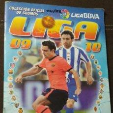 Álbum de fútbol completo: ALBUM LIGA 09/10 EDICIONES ESTE COMPLETO VER FOTOS. Lote 155703921