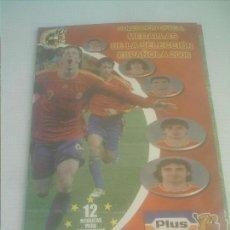 Álbum de fútbol completo: COLECCION OFICIAL MEDALLAS DE LA SELECCION ESPAÑOLA 2006 PLUS COMPLETO TAZOS /POGS. Lote 155698714