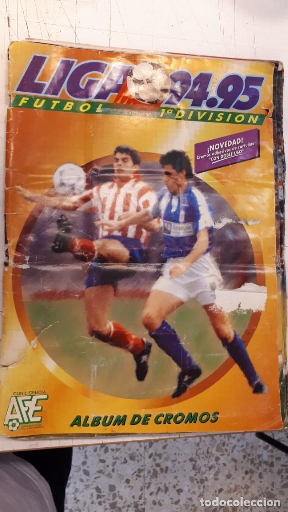 ÁLBUM LIGA 94 95 COMPLETO (Coleccionismo Deportivo - Álbumes y Cromos de Deportes - Álbumes de Fútbol Completos)