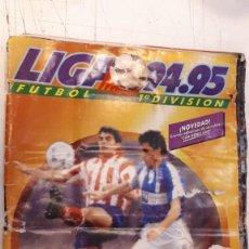 Álbum de fútbol completo: ÁLBUM LIGA 94 95 COMPLETO. Lote 155921398