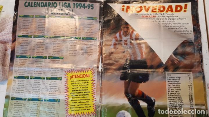 Álbum de fútbol completo: Álbum liga 94 95 completo - Foto 2 - 155921398
