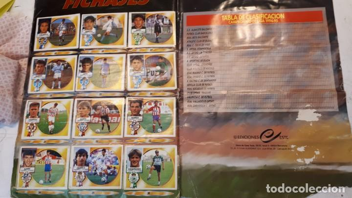 Álbum de fútbol completo: Álbum liga 94 95 completo - Foto 24 - 155921398