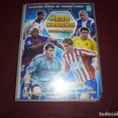 Álbum de fútbol completo: MAGNIFICO ALBUM DE FUTBOL MEGACRACKS 2005-2006 PANINI CON 504 MAS 47 TOTAL 551 CROMOS. Lote 156027010