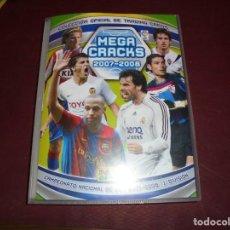 Álbum de fútbol completo: MAGNIFICO ALBUM DE FUTBOL MEGACRACKS 2007-2008 PANINI CON 504 MAS 81 TOTAL 585 CROMOS. Lote 156041574