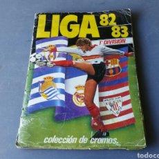 Álbum de fútbol completo: ÁLBUM COMPLETO +EXTRAS LIGA 82/83. Lote 156133420