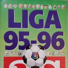 Álbum de fútbol completo: ÁLBUM DE CROMOS LIGA 95-96. AS.. Lote 156552728