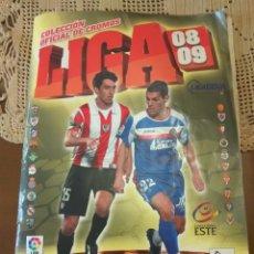 Álbum de fútbol completo: FÚTBOL ÁLBUM LIGA 08-09. 2008-2009 COMPLETO LEER DESCRIPCIÓN. Lote 156705709