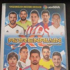 Álbum de fútbol completo: ADRENALYN 2014-15 COMPLETO ERRORES,EDICIONES LIMITADAS LETRAS A,B,C ETC.....LEER DESCRIPCIÓN.. Lote 156973174