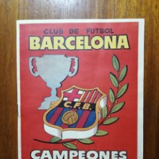 Álbum de fútbol completo: C. F. BARCELONA - ALBUM CAMPEONES LIGA 1952 - 1953 COMPLETO 1952/53 52/53 ED. HISPANO AMERICANA. Lote 156999756