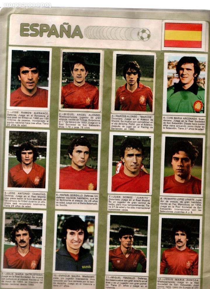 Álbum de fútbol completo: Album Mundial España 82 Fher completo - Foto 2 - 53261783