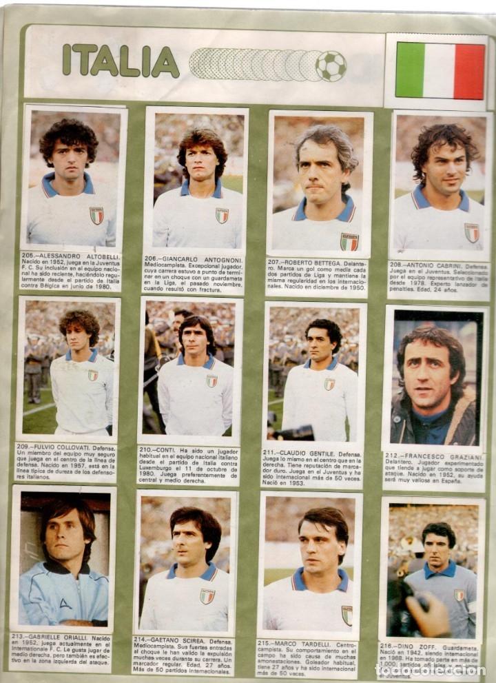 Álbum de fútbol completo: Album Mundial España 82 Fher completo - Foto 3 - 53261783