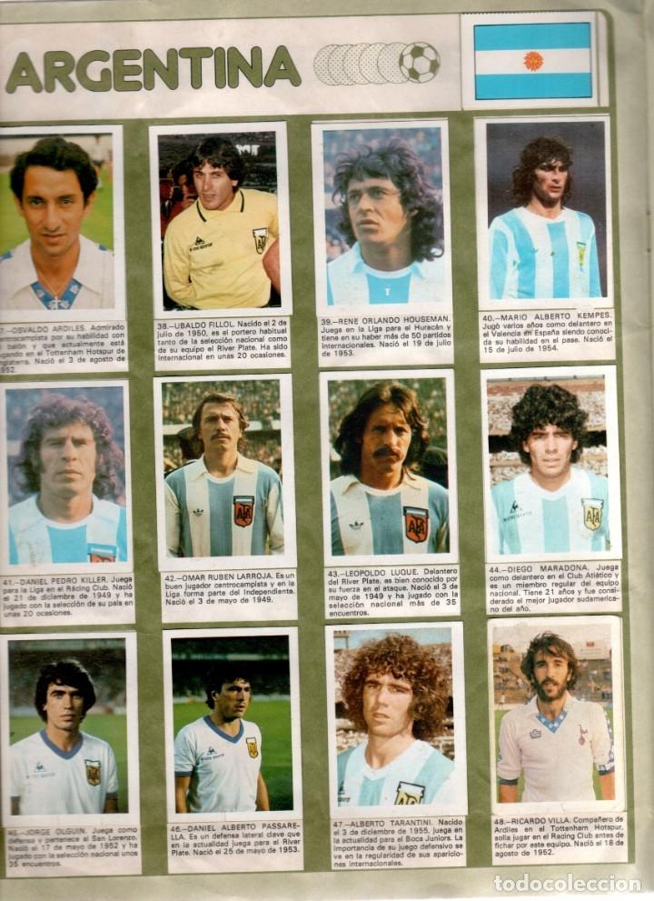 Álbum de fútbol completo: Album Mundial España 82 Fher completo - Foto 4 - 53261783