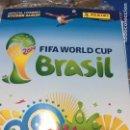 Álbum de fútbol completo: PANINI. MUNDIAL BRASIL 2014.LOTE DE 50 ÁLBUMES PLANCHA. Lote 157919154