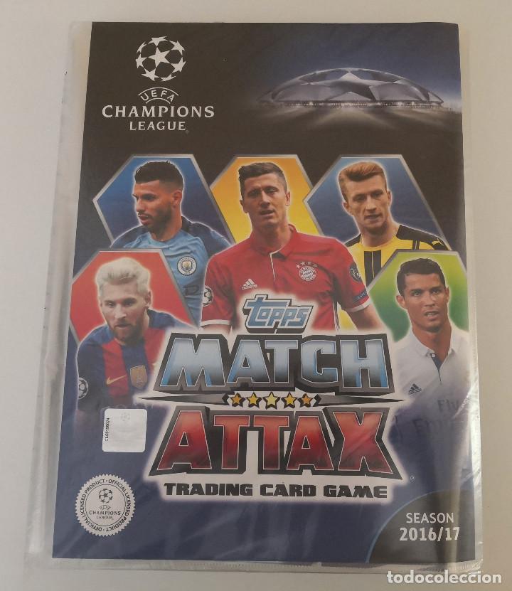 MATCH ATTAX UEFA CHAMPIONS LEAGUE 2016-17 (Coleccionismo Deportivo - Álbumes y Cromos de Deportes - Álbumes de Fútbol Completos)